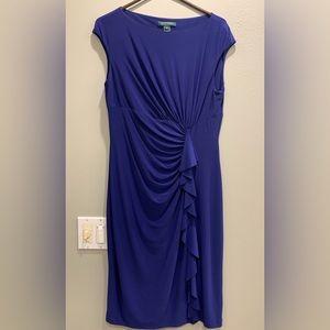 Ralph Lauren Blue Dress 💙 Size 12